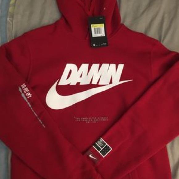 comprare bene grande liquidazione qualità superiore Nike Sweaters | X Tde Red Damn Hoodie | Poshmark